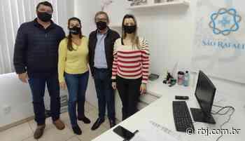 Sociedade Rural de Chopinzinho faz doação ao Instituto de Saúde São Rafael - RBJ