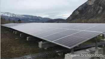 La centrale photovoltaïque opérationnelle à Faverges-Seythenex - Bref Eco