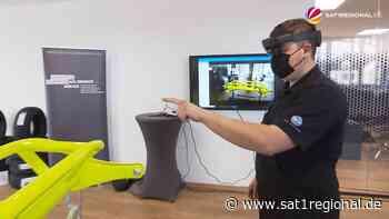 VIDEO | Kfz-Mechatroniker-Azubis lernen mit Augmented Reality: So könnte die Lkw-Montage der Zukunft aussehen - SAT.1 REGIONAL - Sat.1 Regional