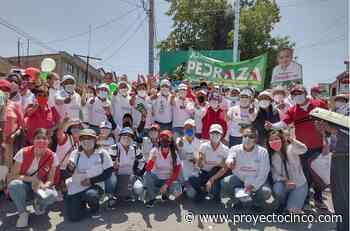Jorge Pedraza reafirmó su liderazgo de cara a las próximas elecciones del 6 de junio y es vitoreado por vecinos de San Baltazar Temaxcalac - Informativo ProyectoCINCO