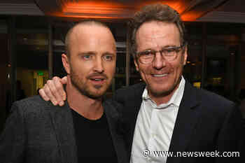 Aaron Paul and Bryan Cranston Mix Cocktails for Shocked Bar Patrons - Newsweek