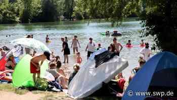 Aileswasensee Neckartailfingen: Der Badespaß hat begonnen – das sind die Regeln - SWP