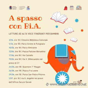 Putignano - A spasso con Bi.A.: letture itineranti per bambini - Putignano Informatissimo