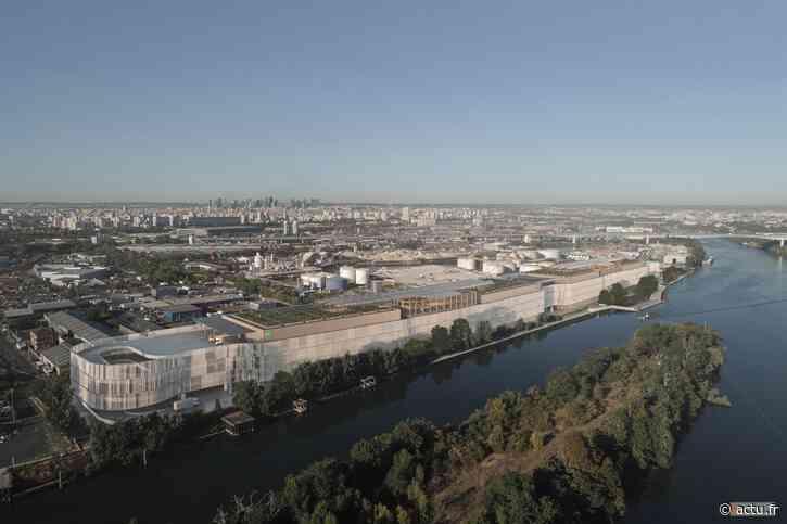 Au port de Gennevilliers, un gigantesque entrepôt « unique en Europe » va être construit - actu.fr