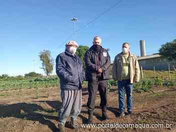 Instituições recebem doação de legumes da horta do Presídio de Dom Pedrito - Portal de Camaquã