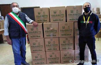 Operazione solidarietà Coldiretti: a Tricerro 750 chili di prodotti di qualità - Prima Vercelli