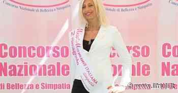 Monica di Aviano alle pre-finali di Miss Mamma 2021 - Il Friuli