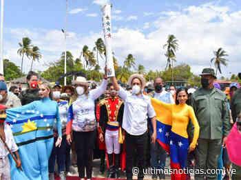 Cumaná recibió el Fuego Patrio en el inicio del mes Bicentenario - Últimas Noticias