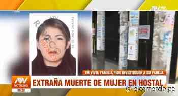 Villa El Salvador: hallan muerta a mujer en interior de habitación de hostal y sospechan de su pareja - El Comercio Perú