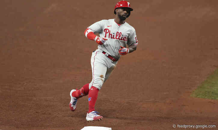 Phillies offense explodes for seven home runs in win
