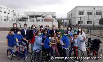 Figueira da Foz equipa escolas com material de ciclismo para alunos com necessidades educativas especiais - Notícias de Coimbra