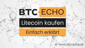 Litecoin (LTC) kaufen - einfach und direkt   Ratgeber & Anbieter 2021 - BTC-ECHO