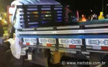 Acidente entre ônibus e caminhão deixa dois jovens mortos em Campos Novos | NSC Total - NSC Total