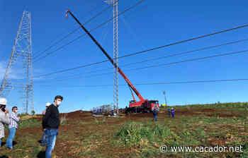 Em Campos Novos: Prefeitura acompanha situação, in loco, dos trabalhos para retorno da energia - Caçador Online
