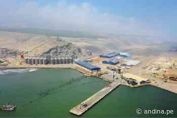 Modernización del puerto liberteño de Salaverry registra avance del 80 % - Agencia Andina