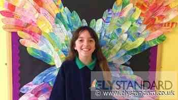 Ely pupils angel art inspired by Antony Gormley - Ely Standard