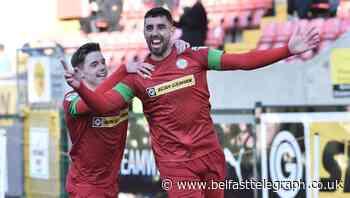 Joe Gormley putting 'body on the line' for Cliftonville's play-off hopes, says boss - Belfast Telegraph