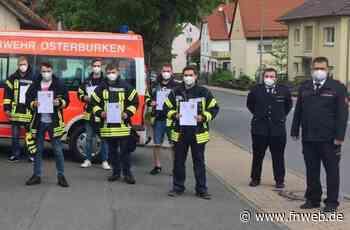 Feuerwehr Osterburken: Lehrgang zum Sprechfunker erfolgreich abgeschlossen - Fränkische Nachrichten
