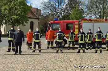 Feuerwehrleute in Osterburken bestehen Grundausbildungslehrgang - Fränkische Nachrichten