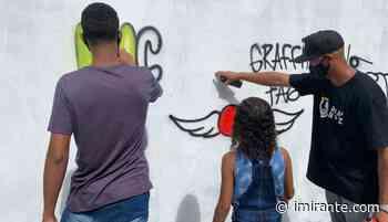 Associação Comunitária do Itaqui-Bacanga recebe oficina de Grafite - Imirante.com