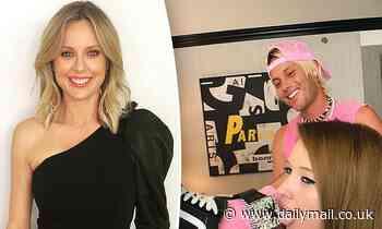 Allison Langdon's oddball rapper cousin Jesse Sunset debuts new romance - Daily Mail