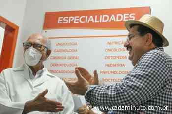 Prefeito Gilberto Gonçalves acompanha atendimento na policlínica em Rio Largo - Cada Minuto
