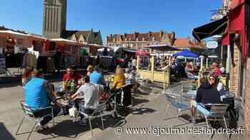 À Bergues, la proposition d'étendre les terrasses ravit les commerçants - Le Journal des Flandres
