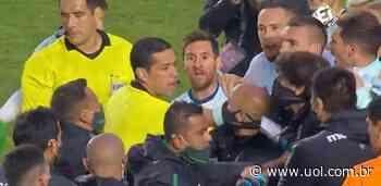 M. Moreno explica briga com Messi nas eliminatórias: 'Mal-entendido' - UOL