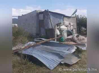 Daña tornado casas en comunidad de Chignahuapan Puebla May 20 , 2021 - Paralelo 19