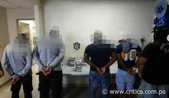 Caen cuatro hombres con droga en el aeropuerto de Tocumen - Crítica Panamá
