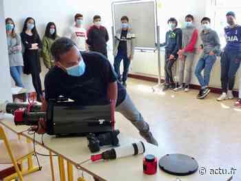 Vernon. L'astronomie s'invite au collège Ariane - actu.fr