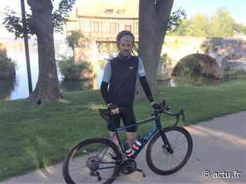 Normandie. Au départ de Vernon, Matthieu Tordeur commence un périple de 1 000 km à vélo - actu.fr