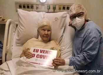 Aos 91 anos, mãe de ex-vice-prefeita de Cordeiro se recupera da Covid - Serra News