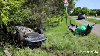 Bei Bad Bramstedt: Unfall beim Überholen auf B206: Audi-Fahrerin schwer verletzt   shz.de - shz.de