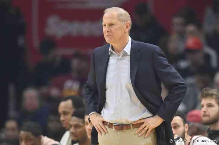 Pistons Hire John Beilein As Senior Advisor