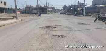 Residentes de El Pedregal, en Tizayuca, exigen repavimentación - Criterio Hidalgo