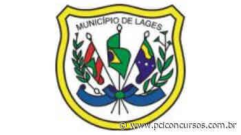 Prefeitura de Lages - SC anuncia um novo Processo Seletivo - PCI Concursos