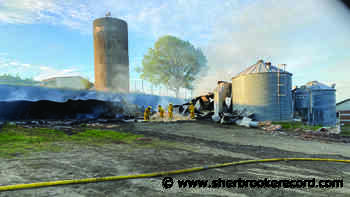 Over 100 cattle perish in Stanstead East barn fire - Sherbrooke Record