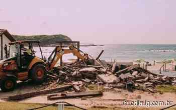 Justiça determina demolição de quiosque na Praia das Conchas, em Cabo Frio - Jornal O Dia