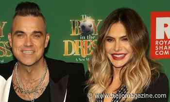 Robbie Williams and Ayda Field's daughter Coco melts hearts with reaction to sweet serenade - HELLO!