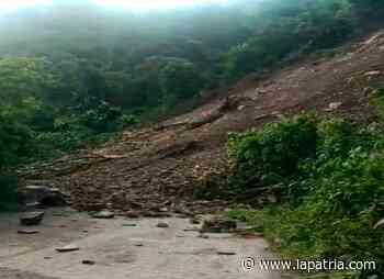 Conozca el estado de las vías de Caldas: cerrada la carretera Salamina-Pácora - La Patria.com
