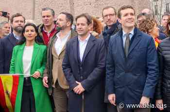Pablo Casado se abrazará de nuevo a Vox en Colón contra los indultos - Deia