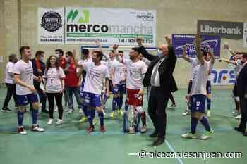 Ascenso del Manzanares FS asciende a la 1ª División en el Pabellón «Antonio Caba» - Alcázar de San Juan