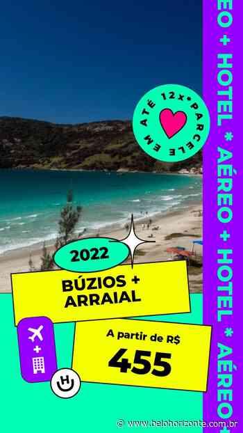 Pacote Búzios + Arraial do Cabo por R$ 455 para 2022 com Aéreo + Hospedagem com Café da Manhã - Belo Horizonte