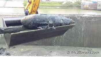 Bonneuil-sur-Marne : appelés pour un obus, les démineurs découvrent une bouée - 94 Citoyens