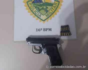 Homem ameaça ex-mulher com revólver, em Pitanga – Correio do Cidadão - Correio do CIdadão