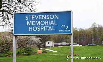 News Driver suffers minor injuries after crash at Stevenson Memorial Hospital in Alliston - simcoe.com