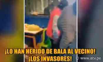 Lurigancho - Chosica: 6 heridos por balacera de traficantes de terreno - ATV.pe