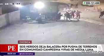 Chosica: Balacera deja seis heridos en medio de pugna por terrenos de comunidad campesina - Diario Trome