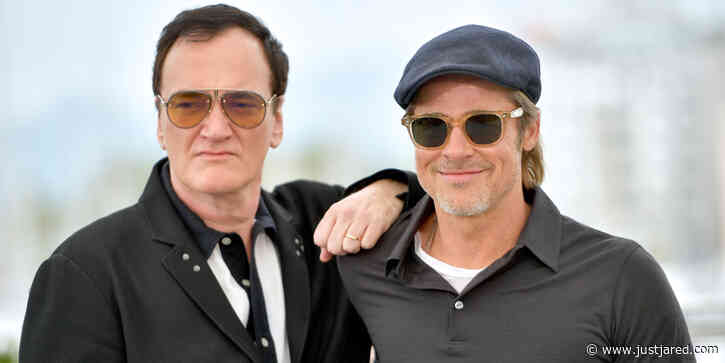 Quentin Tarantino Teases 'Once Upon A Time in Hollywood' Novel & Says Fans Will Learn Much More About Brad Pitt's Character Cliff
